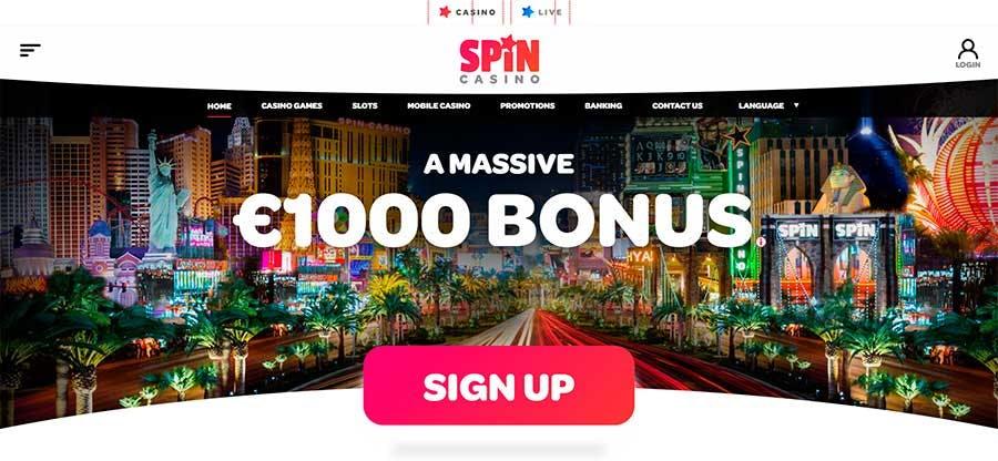 Spin Casino promozioni e bono