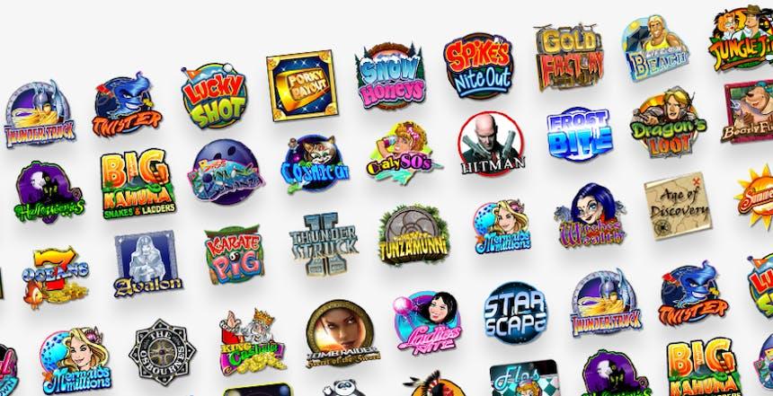 Juegos de casino de Ruby Fortune