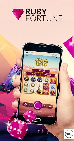 Descarga la aplicacion movil de Ruby Fortune
